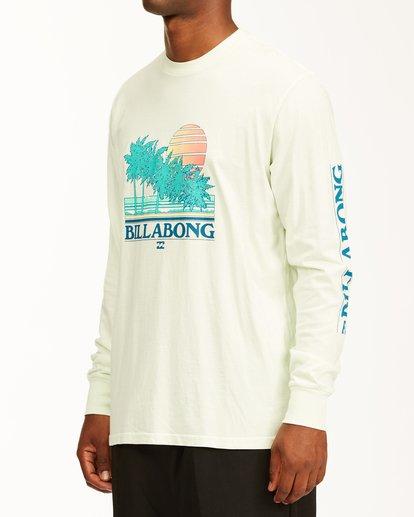 1 Club Tropix Long Sleeve Wave Washed T-Shirt Multicolor ABYZT00222 Billabong