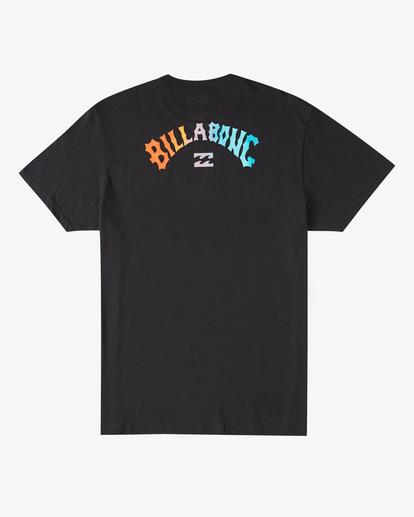 6 Arch Fill Short Sleeve T-Shirt Black ABYZT00225 Billabong