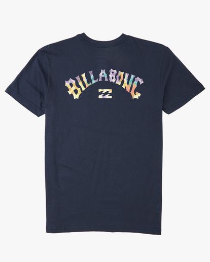 6 Arch Fill Short Sleeve T-Shirt Blue ABYZT00225 Billabong