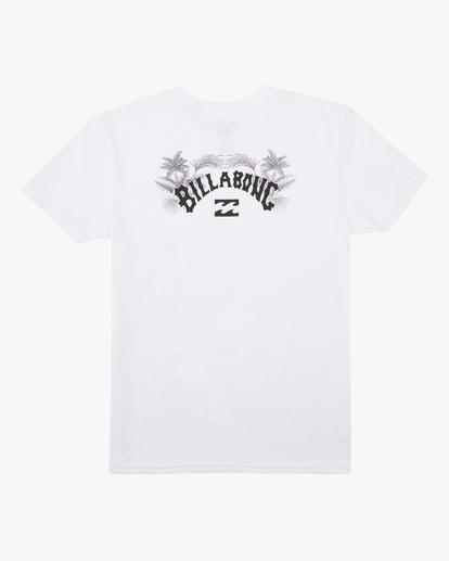 6 Arch Fill Short Sleeve T-Shirt White ABYZT00225 Billabong