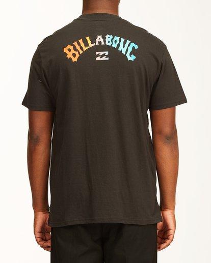 2 Arch Fill Short Sleeve T-Shirt Black ABYZT00225 Billabong