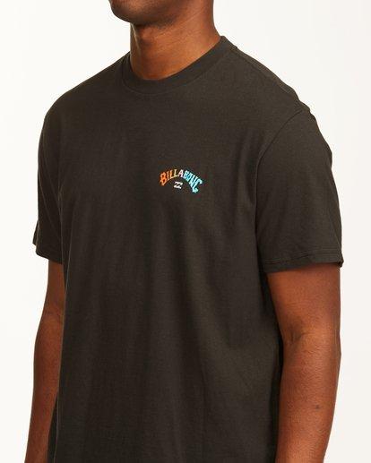 4 Arch Fill Short Sleeve T-Shirt Black ABYZT00225 Billabong