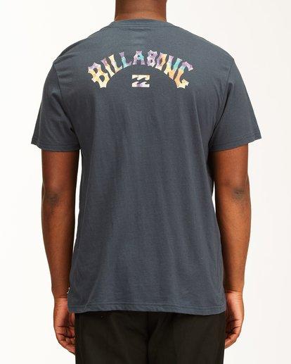 2 Arch Fill Short Sleeve T-Shirt Blue ABYZT00225 Billabong