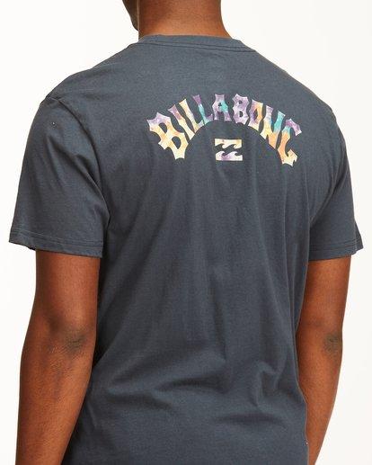 3 Arch Fill Short Sleeve T-Shirt Blue ABYZT00225 Billabong