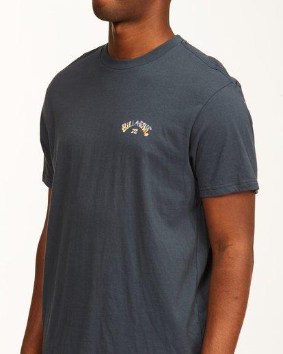 4 Arch Fill Short Sleeve T-Shirt Blue ABYZT00225 Billabong