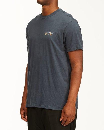 1 Arch Fill Short Sleeve T-Shirt Blue ABYZT00225 Billabong