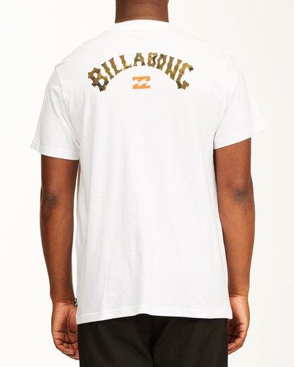 2 Arch Fill Short Sleeve T-Shirt White ABYZT00225 Billabong