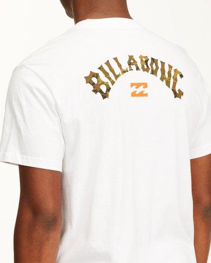 3 Arch Fill Short Sleeve T-Shirt White ABYZT00225 Billabong