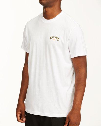 4 Arch Fill Short Sleeve T-Shirt White ABYZT00225 Billabong