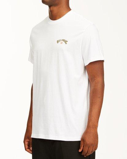 1 Arch Fill Short Sleeve T-Shirt White ABYZT00225 Billabong