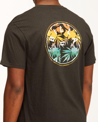 3 Rotor Short Sleeve T-Shirt Black ABYZT00229 Billabong