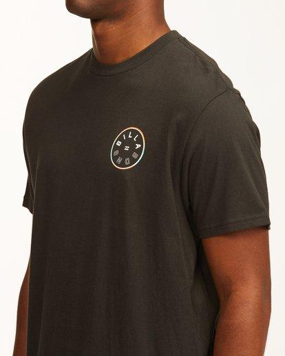 4 Rotor Short Sleeve T-Shirt Black ABYZT00229 Billabong