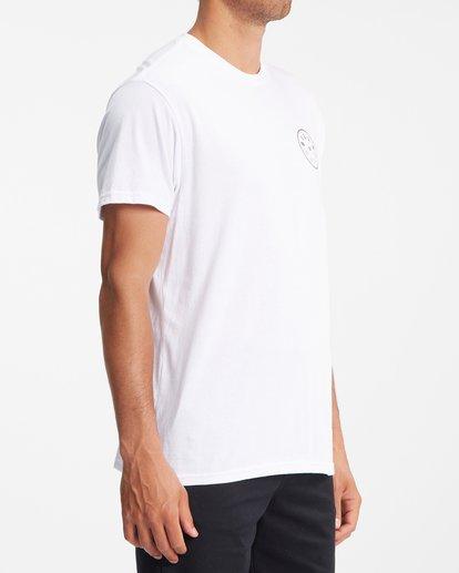 2 Rotor Short Sleeve T-Shirt White ABYZT00229 Billabong