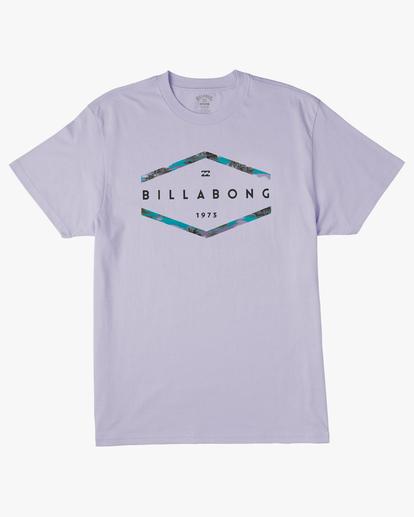 4 Entry Short Sleeve T-Shirt Purple ABYZT00231 Billabong