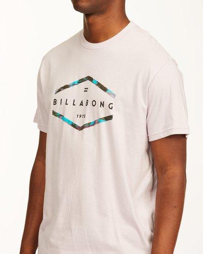 3 Entry Short Sleeve T-Shirt Purple ABYZT00231 Billabong