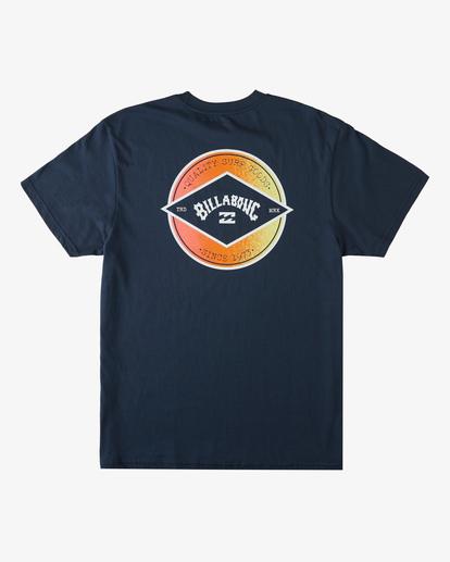 4 Rotor Arch Short Sleeve T-Shirt Blue ABYZT00232 Billabong