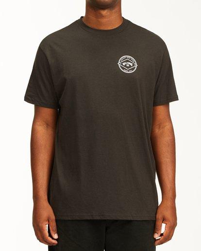 0 Rotor Arch Short Sleeve T-Shirt Black ABYZT00232 Billabong