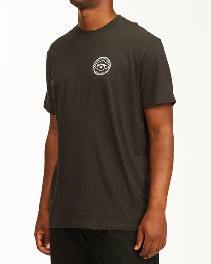 1 Rotor Arch Short Sleeve T-Shirt Black ABYZT00232 Billabong