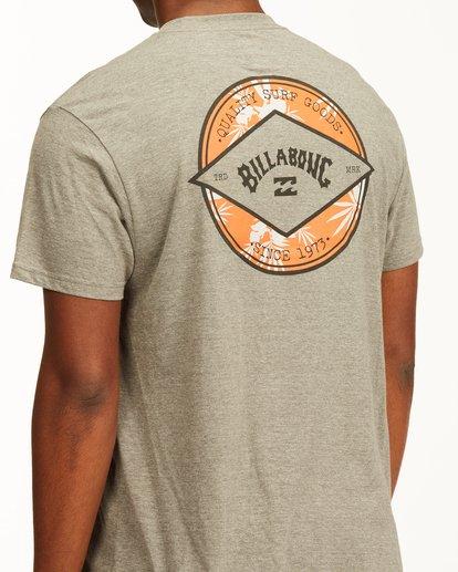 3 Rotor Arch Short Sleeve T-Shirt Green ABYZT00232 Billabong