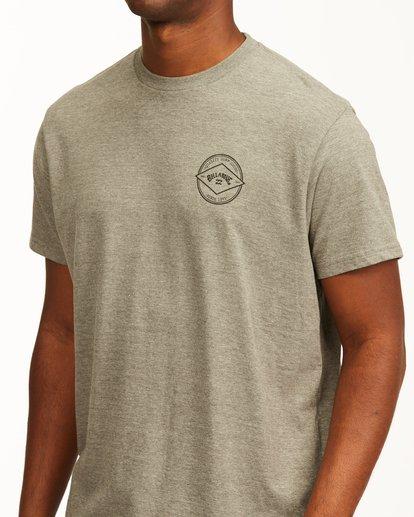 4 Rotor Arch Short Sleeve T-Shirt Green ABYZT00232 Billabong