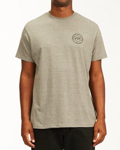 0 Rotor Arch Short Sleeve T-Shirt Green ABYZT00232 Billabong
