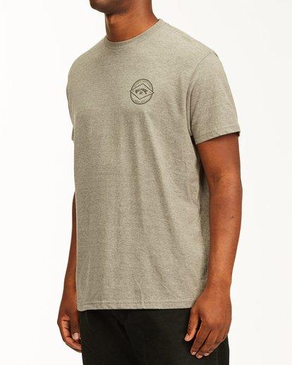 1 Rotor Arch Short Sleeve T-Shirt Green ABYZT00232 Billabong
