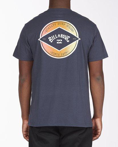 2 Rotor Arch Short Sleeve T-Shirt Blue ABYZT00232 Billabong