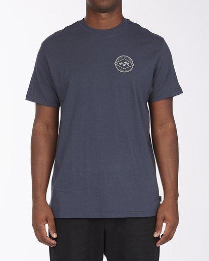0 Rotor Arch Short Sleeve T-Shirt Blue ABYZT00232 Billabong