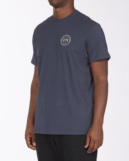 1 Rotor Arch Short Sleeve T-Shirt Blue ABYZT00232 Billabong