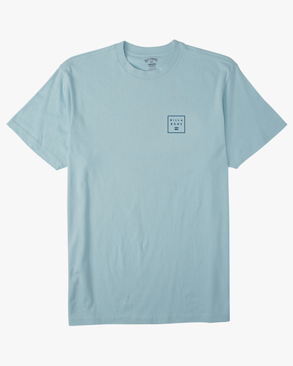 4 Stacked Short Sleeve T-Shirt Blue ABYZT00234 Billabong