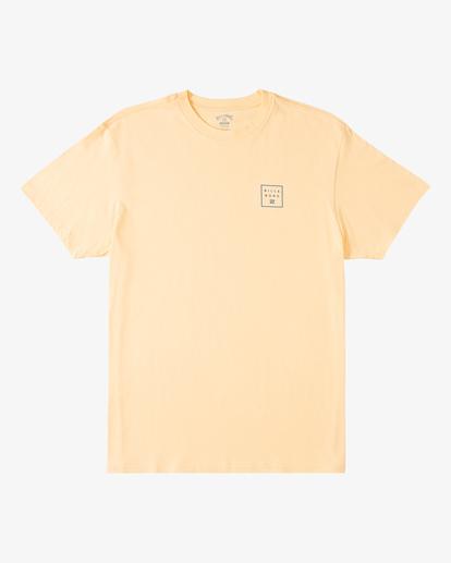 4 Stacked Short Sleeve T-Shirt Black ABYZT00234 Billabong