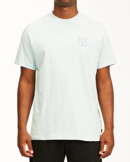0 Stacked Short Sleeve T-Shirt Blue ABYZT00234 Billabong