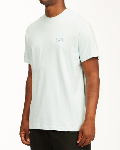 1 Stacked Short Sleeve T-Shirt Blue ABYZT00234 Billabong