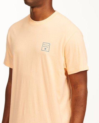 3 Stacked Short Sleeve T-Shirt Black ABYZT00234 Billabong
