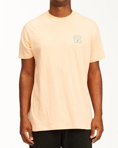 0 Stacked Short Sleeve T-Shirt Black ABYZT00234 Billabong