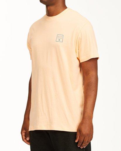 1 Stacked Short Sleeve T-Shirt Black ABYZT00234 Billabong