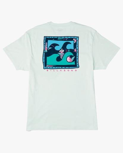 6 Crayon Wave Short Sleeve T-Shirt Multicolor ABYZT00235 Billabong