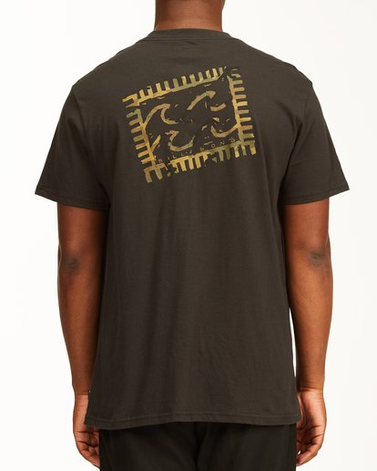 2 Crayon Wave Short Sleeve T-Shirt Black ABYZT00235 Billabong