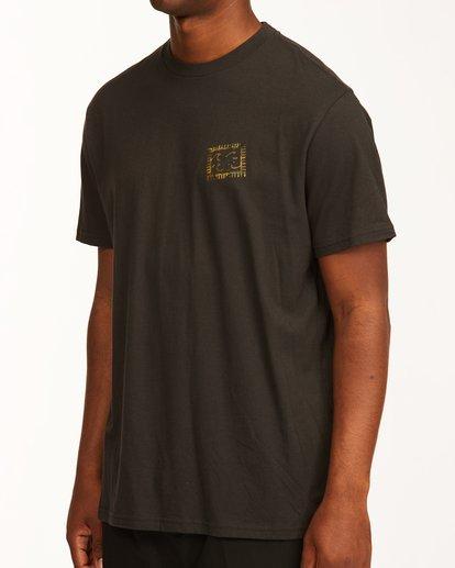 3 Crayon Wave Short Sleeve T-Shirt Black ABYZT00235 Billabong