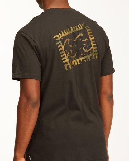 4 Crayon Wave Short Sleeve T-Shirt Black ABYZT00235 Billabong