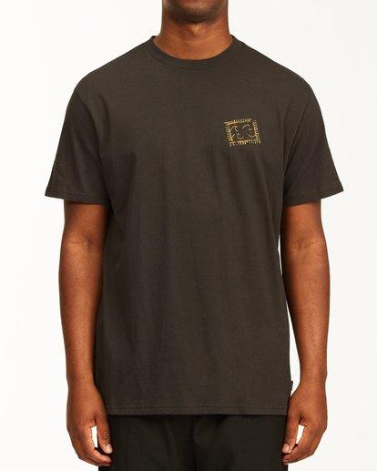 0 Crayon Wave Short Sleeve T-Shirt Black ABYZT00235 Billabong