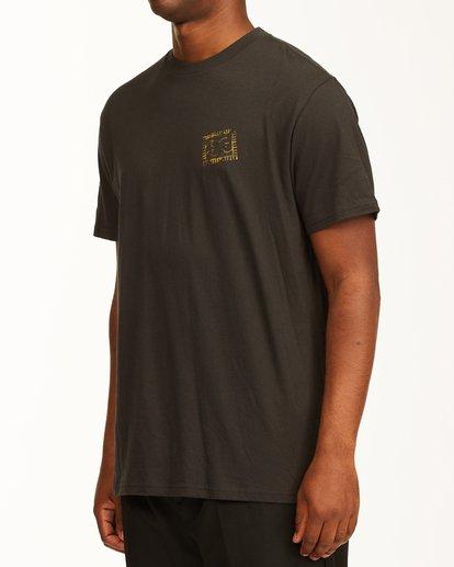 1 Crayon Wave Short Sleeve T-Shirt Black ABYZT00235 Billabong