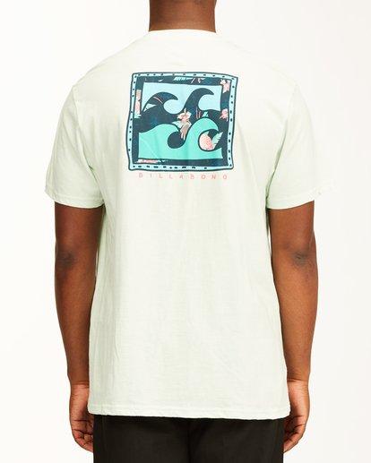 2 Crayon Wave Short Sleeve T-Shirt Multicolor ABYZT00235 Billabong