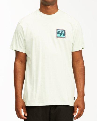 0 Crayon Wave Short Sleeve T-Shirt Multicolor ABYZT00235 Billabong