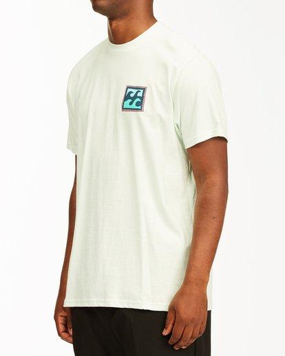 1 Crayon Wave Short Sleeve T-Shirt Multicolor ABYZT00235 Billabong