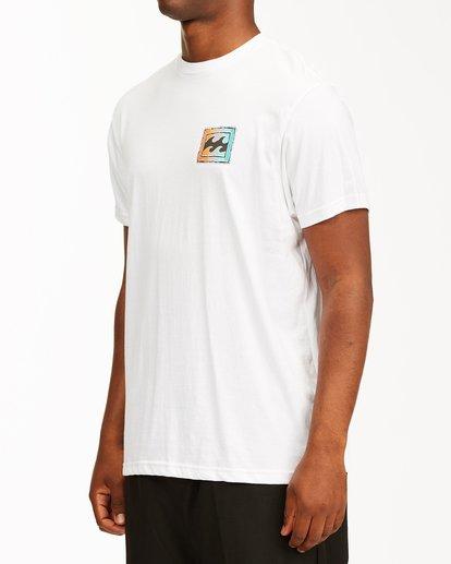 1 Crayon Wave Short Sleeve T-Shirt White ABYZT00235 Billabong