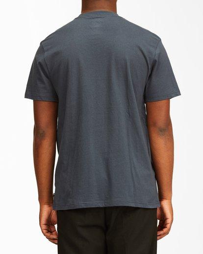 2 Social Lounge Short Sleeve T-Shirt Blue ABYZT00237 Billabong
