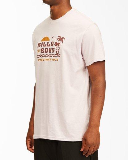 1 Social Lounge Short Sleeve T-Shirt Purple ABYZT00237 Billabong