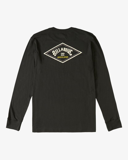 4 A/Div Diamond Long Sleeve T-Shirt Black ABYZT00265 Billabong