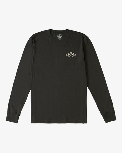 3 A/Div Diamond Long Sleeve T-Shirt Black ABYZT00265 Billabong
